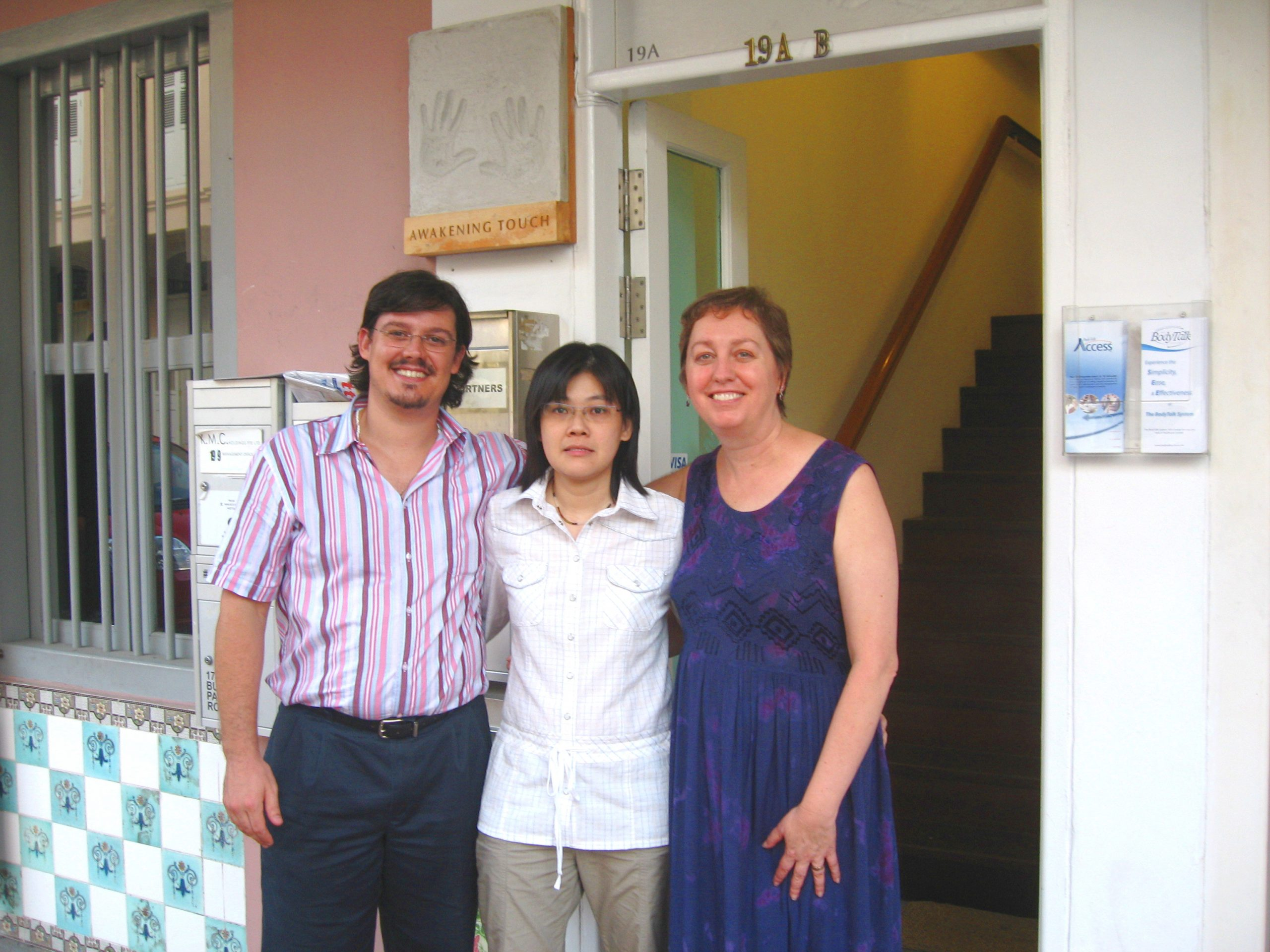 BodyTalk Training Sylvia Muiznieks_Singapore 2005